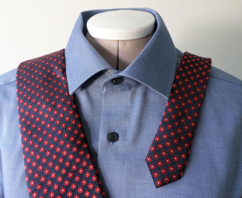 Herrenhemd, Hemdbluse, blau, weiß, Krawatte, Mann, männlich, Schneiderbüste, Schneiderpuppe, Herr, Herren